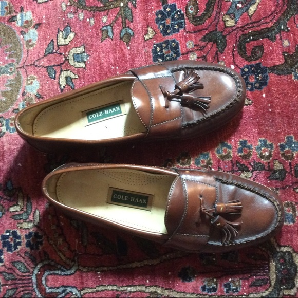 Cole Haan Other - Cole Haan Brown Leather Dress Shoes